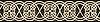 "8 3/4"" Jared border, a hand-cut stone mosaic, shown in polished Rosa Portagallo and Nero Marquina."