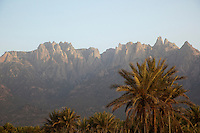 The Hagier Mountains near Hadibu, Socotra, Yemen