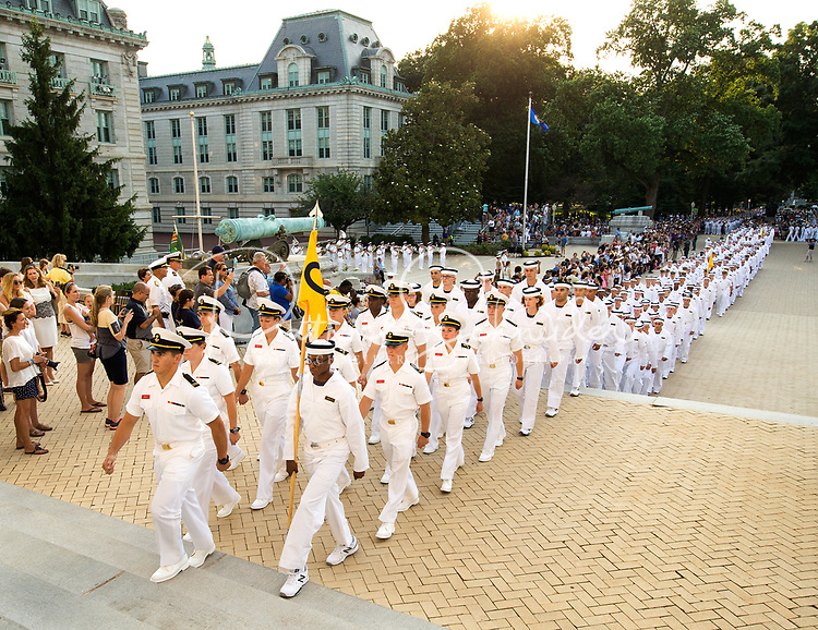 USNA Induction Day Class of 2021 | Patrick Schneider