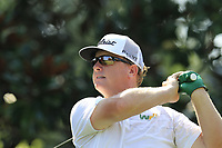 Charley Hoffman (USA) tees off the 15th tee during Thursday's Round 1 of the 2017 PGA Championship held at Quail Hollow Golf Club, Charlotte, North Carolina, USA. 10th August 2017.<br /> Picture: Eoin Clarke | Golffile<br /> <br /> <br /> All photos usage must carry mandatory copyright credit (&copy; Golffile | Eoin Clarke)