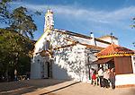 Peña de Arias Montano,  Chapel of the Virgen de los Ángeles, Alájar, Sierra de Aracena, Huelva province, Spain