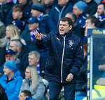 24.02.18 Rangers v Hearts:<br /> Graeme Murty