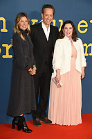"Amy Nauiokas, Richard E Grant and Melissa McCarthy<br /> arriving for the London Film Festival screening of ""Can You Ever Forgive Me"" at the Cineworld Leicester Square, London<br /> <br /> ©Ash Knotek  D3449  19/10/2018"