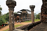 Thuparama building, The Quadrangle, UNESCO World Heritage Site, the ancient city of Polonnaruwa, Sri Lanka, Asia
