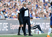19th May 2018, Wembley Stadium, London, England; FA Cup Final football, Chelsea versus Manchester United; Manchester Untied Manager Jose Mourinho giving instructions to his players from the touchline