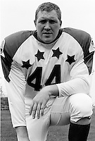 Paul Desjardins 1970 Canadian Football League Allstar team. Copyright photograph Ted Grant