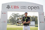 Justin Rose of England on the sidelines of the 58th UBS Hong Kong Open as part of the European Tour on 07 December 2016, at the Hong Kong Golf Club, Fanling, Hong Kong, China. Photo by Vivek Prakash / Power Sport Images