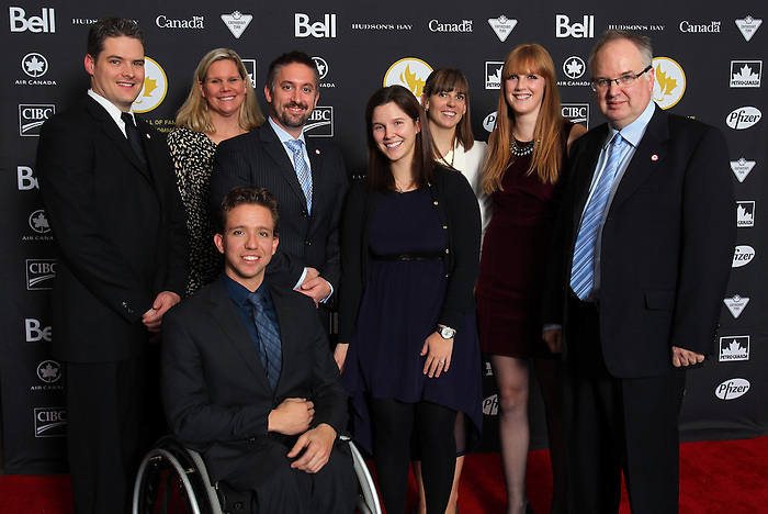 Ottawa, ON – Nov 27 2015 – CPC staff at the Canadian Paralympic Hall of Fame in Ottawa, Ontario Nov 27, 2015. Photo Andre Forget / Canadian Paralympic Committee
