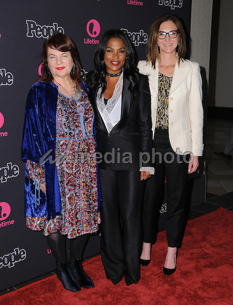 "13 January 2017 - Los Angeles, California - Allison Anders, Nia Long, Alison Greenspan. ""Beaches"" Los Angeles Premiere held at the Regal LA Live Theater. Photo Credit: Birdie Thompson/AdMedia"