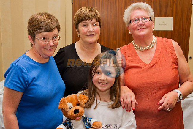 Faye Feice, Bridget O' Brien, Leah Maguire and Helena Nevin at the Bring and Buy in the Westcourt..Picture: Shane Maguire / www.newsfile.ie.