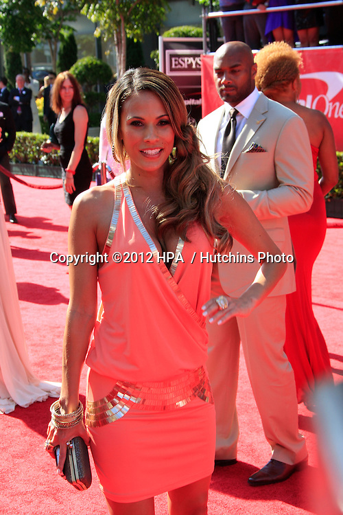 LOS ANGELES - JUL 11:  Bonnie-Jill Laflin arrives at the 2012 ESPY Awards at Nokia Theater at LA Live on July 11, 2012 in Los Angeles, CA