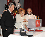 "Eric Braeden and Jeanne Cooper cut the cake at the 40th Anniversary of ""The Young and The Restless"" celebrations held at CBS Television City in Los Angeles, CA. March 26, 2013."