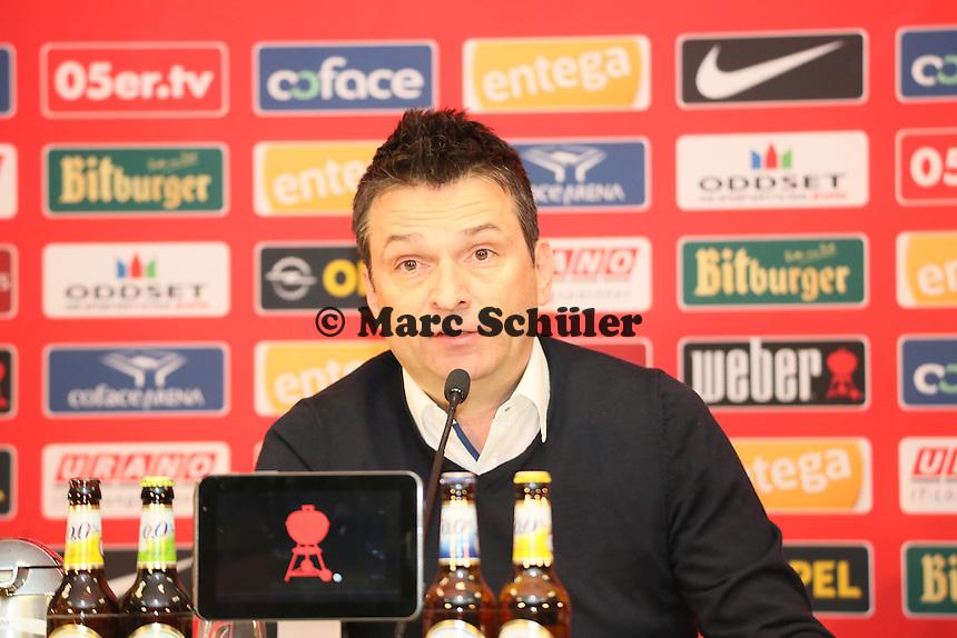 Manager Christian Heidel (Mainz 05)- 1. FSV Mainz 05 Trainervorstellung Martin Schmidt, Coface Arena