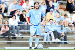 27 November 2011: North Carolina's Drew McKinney. The University of North Carolina Tar Heels defeated the Indiana University Hoosiers 1-0 in overtime at Fetzer Field in Chapel Hill, North Carolina in an NCAA Men's Soccer Tournament third round game.