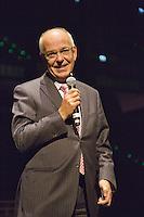 09-02-13, Tennis, Rotterdam, qualification ABNAMROWTT, Mr. Zalm, CEO of the ABNAMRO Bank speaks during dinner