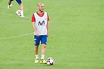 David Silva during Spain training session at Santiago Bernabeu Stadium in Madrid, Spain September 01, 2017. (ALTERPHOTOS/Borja B.Hojas)