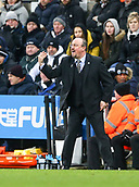 29th January 2019, St James Park, Newcastle upon Tyne, England; EPL Premier League football, Newcastle United versus Manchester City; Rafa Benitez Manager of Newcastle United shouts instructions to his players