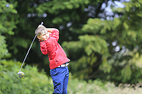 Jack McGovern (Delgany) during the Connacht U14 Boys Amateur Open, Ballinasloe Golf Club, Ballinasloe, Galway,  Ireland. 10/07/2019<br /> Picture: Golffile | Fran Caffrey<br /> <br /> <br /> All photo usage must carry mandatory copyright credit (© Golffile | Fran Caffrey)