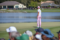 Rickie Fowler (USA) barely misses his birdie putt on 6 during round 2 of the Arnold Palmer Invitational at Bay Hill Golf Club, Bay Hill, Florida. 3/8/2019.<br /> Picture: Golffile | Ken Murray<br /> <br /> <br /> All photo usage must carry mandatory copyright credit (&copy; Golffile | Ken Murray)