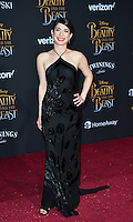 Niki Koss at the premiere for Disney's &quot;Beauty and the Beast&quot; at El Capitan Theatre, Hollywood. Los Angeles, USA 02 March  2017<br /> Picture: Paul Smith/Featureflash/SilverHub 0208 004 5359 sales@silverhubmedia.com