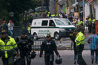 COL - Bomb explodes by Colombia bull ring killing 1 policeman