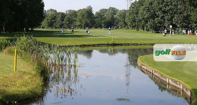 View across the pond on the 11th during Round Two of the 2015 BMW International Open at Golfclub Munchen Eichenried, Eichenried, Munich, Germany. 26/06/2015. Picture David Lloyd   www.golffile.ie
