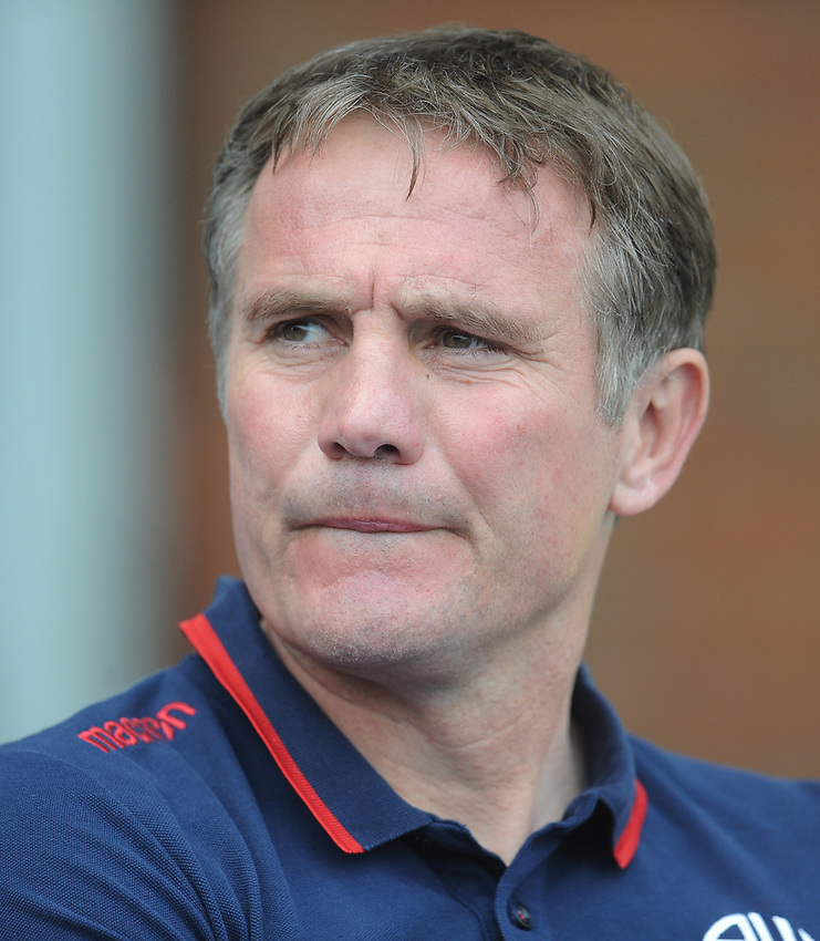 Bolton Wanderers manager Phil Parkinson <br /> <br /> Photographer Kevin Barnes/CameraSport<br /> <br /> The EFL Sky Bet Championship - Blackburn Rovers v Bolton Wanderers - Monday 22nd April 2019 - Ewood Park - Blackburn<br /> <br /> World Copyright © 2019 CameraSport. All rights reserved. 43 Linden Ave. Countesthorpe. Leicester. England. LE8 5PG - Tel: +44 (0) 116 277 4147 - admin@camerasport.com - www.camerasport.com