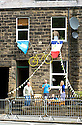 Grand Depart - Tour de France 2014<br /> Yorkshire England.<br /> Preparations for the race<br /> <br /> Pic by Gavin Rodgers/Pixel 8000 Ltd