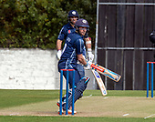 Issued by Cricket Scotland - Scotland V Afghanistan 2nd One Day International - Grange CC - Matthew Cross batting with Kyle Coetzer - picture by Donald MacLeod - 10.05.19 - 07702 319 738 - clanmacleod@btinternet.com - www.donald-macleod.com