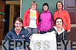 Walk: Pictured before they set off on the charity walk in aid of The Irish Hospice Foundation at St. Patricks Hall, Listowel on Friday morning are Front l-r: Louise Guiney & Sheila O'Neill. Back l-r: Jenny Tarrant, Emer Joy & Margaret Moore.