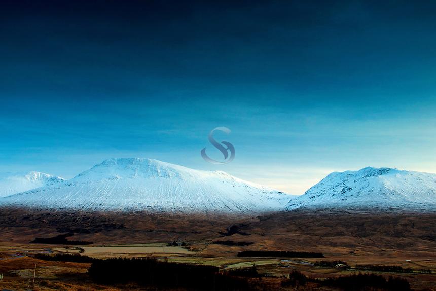 Beinn Achaladair and the Wall of Rannoch, Argyll & Bute