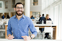 Portraits of students at the Duke University Fuqua School of business in Durham, NC Wednesday, March 21, 2018. (Justin Cook)
