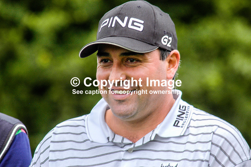 Angel Cabrera, professional golfer, Argentina. Ref: 200506296922...Copyright Image from Victor Patterson, 54 Dorchester Park, Belfast, UK, BT9 6RJ..Tel: +44 28 9066 1296.Mob: +44 7802 353836.Voicemail +44 20 8816 7153.Skype: victorpattersonbelfast.Email: victorpatterson@mac.com.Email: victorpatterson@ireland.com (back-up)..IMPORTANT: If you wish to use this image or any other of my images please go to www.victorpatterson.com and click on the Terms & Conditions. Then contact me by email or phone with the reference number(s) of the image(s) concerned.