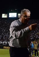 SAO PAULO SP, 13  MARCO 2013 - Libertadores da America - CORINTHIANS X TIJUANA -  Tite    durante partida valida pela Taca Libertadores da Amercia no Estadio do Pacaembu em Sao Paulo, nesta quarta feira, 13. (FOTO: ALAN MORICI / BRAZIL PHOTO PRESS).