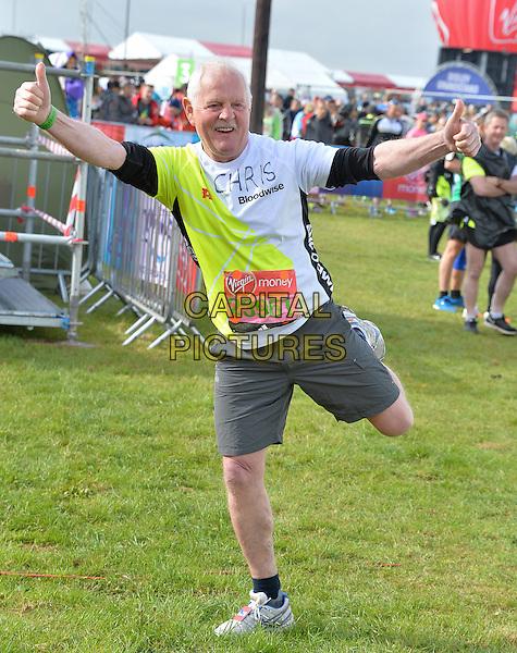 LONDON, ENGLAND - APRIL 24   Chris Chittell at the start of the 2016 Virgin Money London Marathon on Blackheath in London, England. 24th April 2016.<br /> CAP/JWP<br /> &copy;JWP/Capital Pictures
