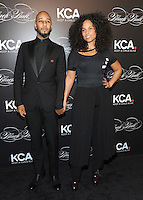 NEW YORK, NY - OCTOBER 19: (L-R) Swizz Beatz and Keep A Child Alive co-founder and singer Alicia Keys attend Keep A Child Alive's Black Ball 2016 at Hammerstein Ballroom on October 19, 2016 in New York City. Photo by John Palmer/MediaPunch