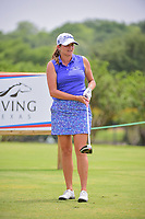 Dori Carter (USA) watches her tee shot on 9 during round 2 of  the Volunteers of America Texas Shootout Presented by JTBC, at the Las Colinas Country Club in Irving, Texas, USA. 4/28/2017.<br /> Picture: Golffile | Ken Murray<br /> <br /> <br /> All photo usage must carry mandatory copyright credit (&copy; Golffile | Ken Murray)