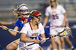 Costa Mesa, CA 02/20/16 - Kylie Drexel (USC #23) in action during the Duke vs USC NCAA Women Division I game at Orange Coast College during the inaugural Orange County Winter Invitational.  18 ranked USC defeated 5th ranked Duke 11-5.