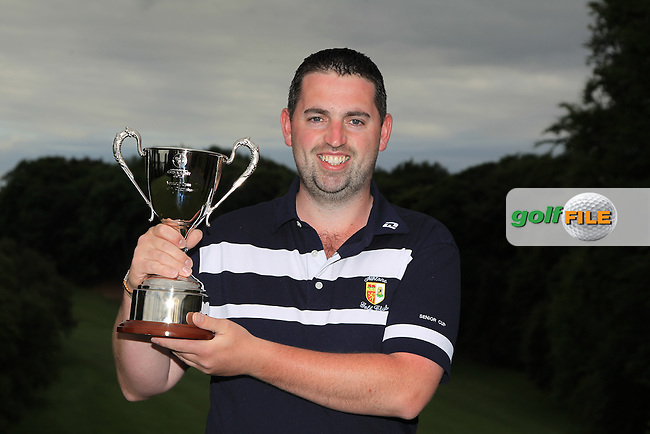 Thomas O'Connor (Athlone) wins the inaugural  Connacht Strokeplay Championship at Athlone Golf Club on Sunday 12th June 2016.<br /> Picture:  Golffile | Thos Caffrey