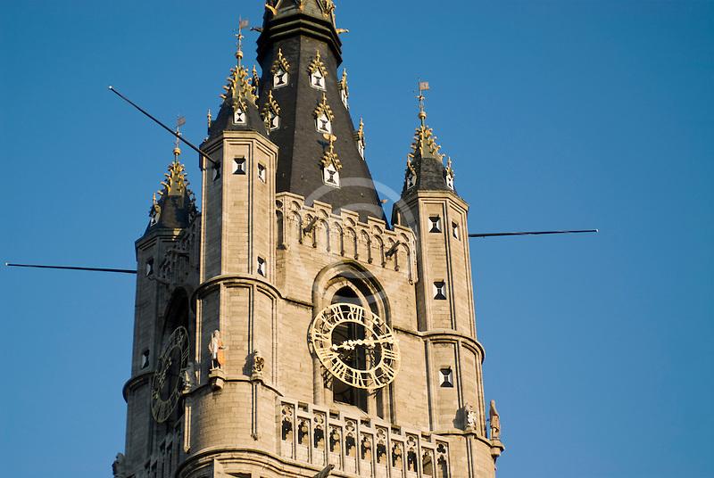 Belgium, Ghent, Belfry