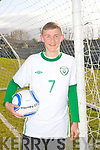 IRELAND'S CALL: Shane McLoughlin of St Brendans Park FC who has been called up to the Irish U16 squad and English Championship side Ipswich Town.