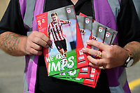 A close up of 'We Are Imps', Lincoln City's match day magazine<br /> <br /> Photographer Chris Vaughan/CameraSport<br /> <br /> The EFL Sky Bet League Two - Lincoln City v Swindon Town - Saturday 11th August 2018 - Sincil Bank - Lincoln<br /> <br /> World Copyright &copy; 2018 CameraSport. All rights reserved. 43 Linden Ave. Countesthorpe. Leicester. England. LE8 5PG - Tel: +44 (0) 116 277 4147 - admin@camerasport.com - www.camerasport.com