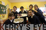 Pupils at Caherleaheen National School enjoying a coffee morning for parents and pubils at the school to raise funds for Haiti. .Front L-R Sarah Barry and Grainne Linnane.Back L-R Diarmuid O'Sullivan, Sarah Gavaghar, Anthony Craig and Conor Harty