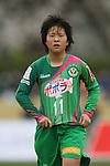 Yuka Momiki (Beleza), .MARCH 23, 2013 - Football /Soccer : .Plenus Nadeshiko League 2013 .between NTV Beleza 2-0 FC Kibikokusaidaigaku Charme .at Ajinomoto Stadium West Field, Tokyo, Japan. .(Photo by YUTAKA/AFLO SPORT) [1040]