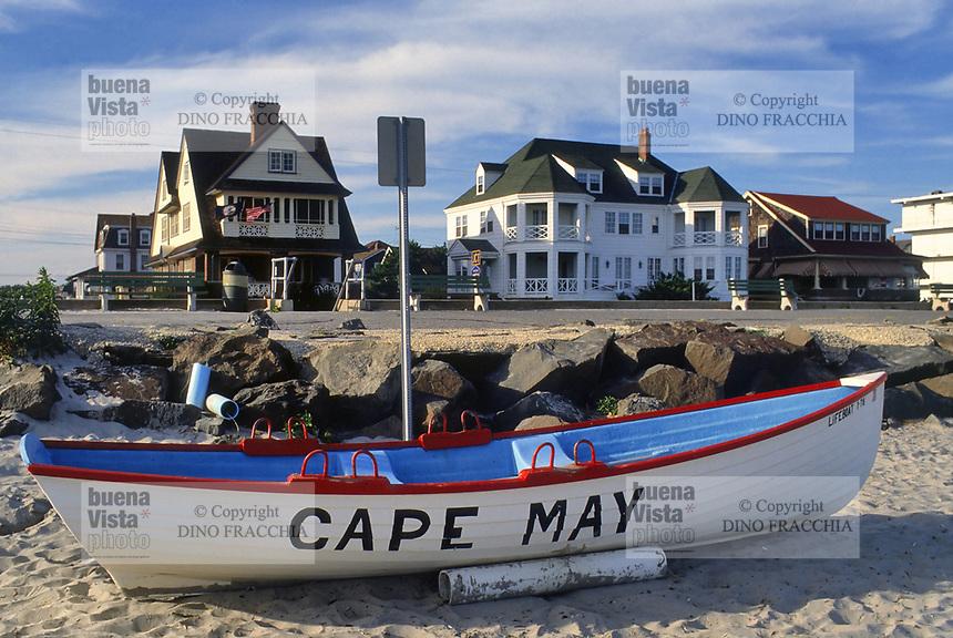 - USA, New Jersey, the beach of Cape May<br /> <br /> - USA, New Jersey, la spiaggia di Cape May