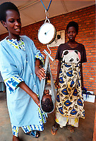 Kigali / Rwanda.Malnutrition centre for children in Kicukiro district.Photo Livio Senigalliesi.