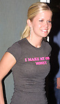 "Crystal Hunt (Lizzie Spalding) at the ""Bloss and Friends"" bowling event hosted by Jerry verDorn (Ross) and Liz Kiefer at the Port Authority Bowling lanes to benefit the Cancer Foundation on October 9, 2004 (Photo by Sue Coflin)"