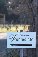 Domaine Fontedicto, Caux. Pezenas region. Languedoc. France. Europe.