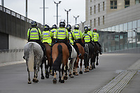Police Horses arrive during Arsenal vs West Ham United, Premier League Football at the Emirates Stadium on 7th March 2020