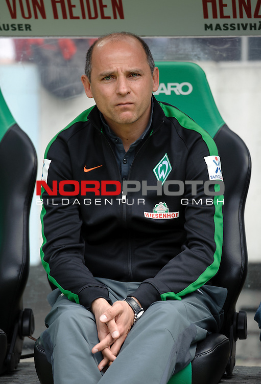 09.05.2015, HDI Arena, Hannover, GER, 1.FBL, Hannover 96 vs Werder Bremen, im Bild Viktor Skripnik (Trainer Werder Bremen)<br /> <br /> Foto &copy; nordphoto / Frisch